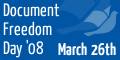 Document Freedom Day banner