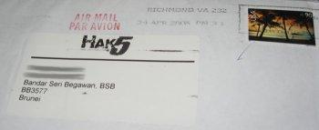 sticker envelope