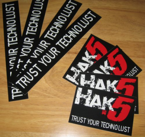 hak5 stickers!