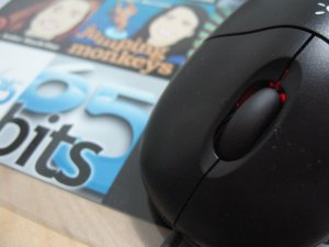 Logitech's Optical Mouse USB front