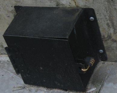 locked box w/ combination lock