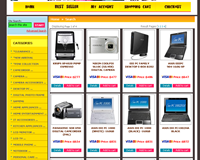 Shopping.com.bn: Typical page
