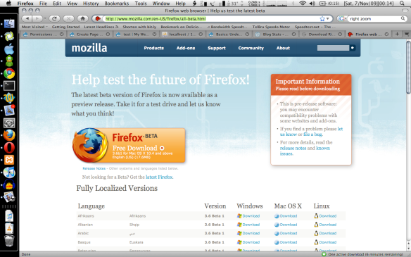 wheres the firefoxs download window