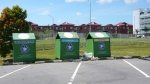 Recycling bins - Science College / Maktab Sains