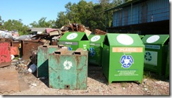 Daikyo - Old and New Recycling bins