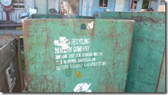 Daikyo - Old Recyling Bin - Matusin Recycling Industry Company