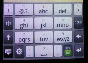 Android (1.5) - Phone Keypad layout