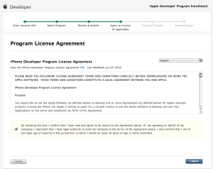 4) Program License Agreement