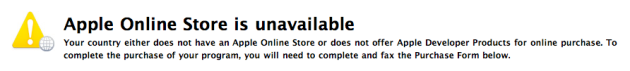 Apple Online Store is Unavailable