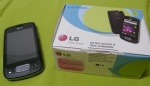 lg p500 optimus one with box
