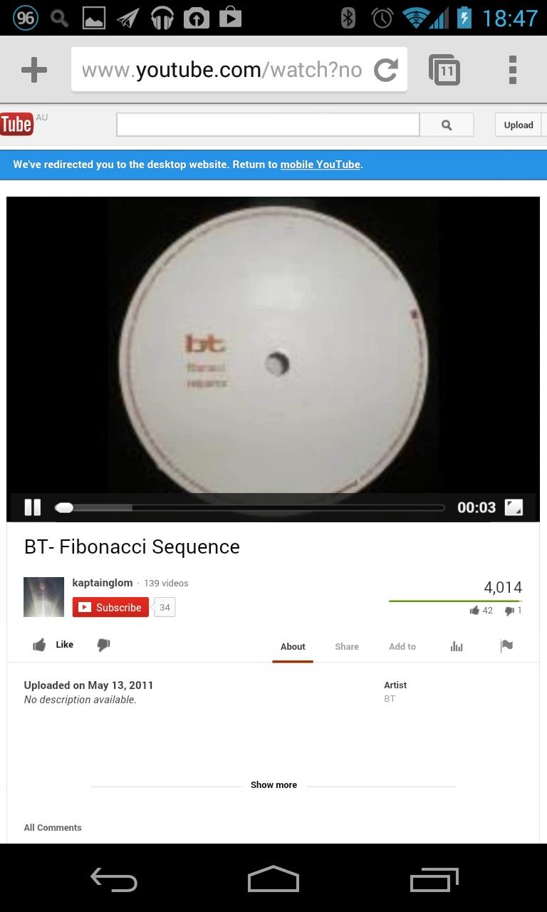 error on YouTube