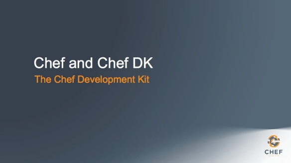 chef and chefdk